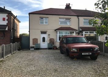 Thumbnail 3 bed semi-detached house for sale in Broughton Road, Crewe