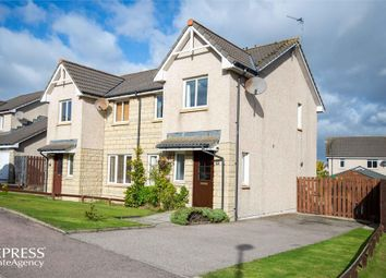 Thumbnail 3 bed semi-detached house for sale in Breckview, Pitmedden, Ellon, Aberdeenshire