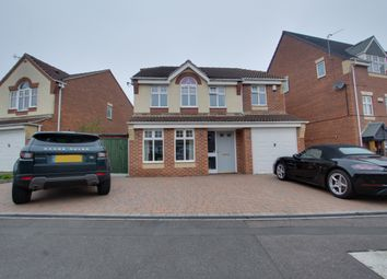 Thumbnail 4 bed detached house for sale in Opal Close, Mansfield