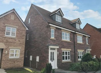 Thumbnail 3 bed semi-detached house for sale in Wakenshaw Drive, Cobblers Hall, Newton Aycliffe