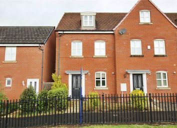 Thumbnail 3 bed town house for sale in Jennings Park Avenue, Abram, Wigan