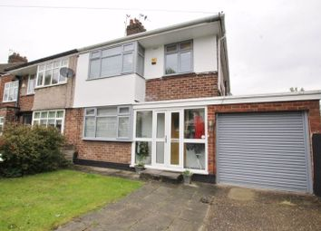 Thumbnail 3 bed semi-detached house for sale in Manor Road, Woolton, Liverpool