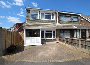 Thumbnail 3 bed semi-detached house for sale in Chestnut Avenue, Haydock, St. Helens