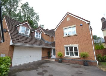 Thumbnail 5 bed detached house for sale in Clos Padrig, St. Mellons, Cardiff