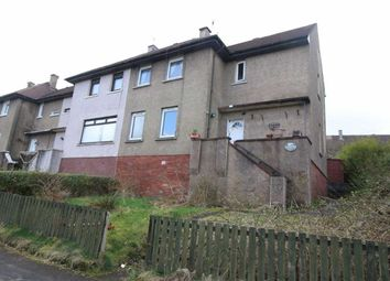 Thumbnail 4 bed end terrace house for sale in Leven Road, Greenock