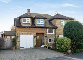 Thumbnail 3 bed detached house for sale in Foxhill Crescent, Camberley