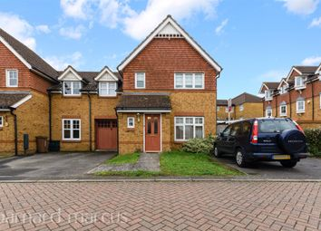 Thumbnail 3 bed semi-detached house for sale in Thompson Close, North Cheam, Sutton