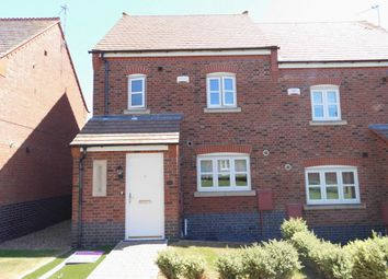 Thumbnail 3 bed semi-detached house for sale in Bridge Green, Birstall, Leicester