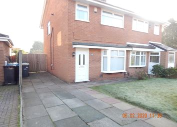 Thumbnail 3 bed semi-detached house to rent in Bilton Close, Widnes