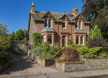 Thumbnail 5 bed detached house for sale in Braeholm, Windyknowe Road, Galashiels