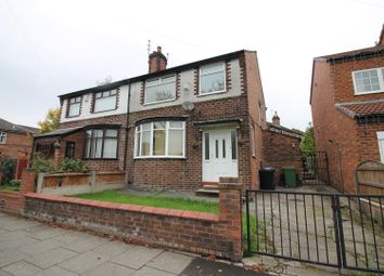 Thumbnail 3 bed semi-detached house to rent in Stretford Road, Urmston, Manchester