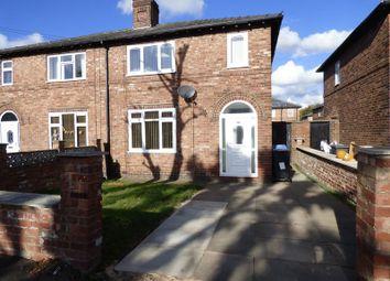 Thumbnail 3 bed semi-detached house to rent in Bridgewater Avenue, Latchford, Warrington