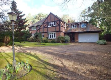 Thumbnail 6 bed detached house to rent in Fitzroy House, Fitzroy Road, Fleet, Hampshire