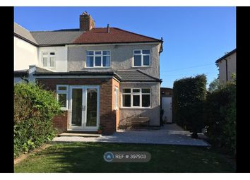 Thumbnail 3 bed semi-detached house to rent in Davenport Road, Sidcup