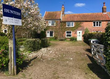 Thumbnail 3 bedroom semi-detached house for sale in Hempnall Road, Woodton, Bungay