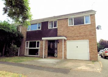 Thumbnail 5 bedroom semi-detached house for sale in Thurne Close, Newport Pagnell, Buckinghamshire