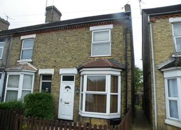 Thumbnail 3 bed end terrace house to rent in St Pauls Road, New England, Peterborough