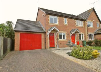 Thumbnail 2 bedroom semi-detached house to rent in Pennycress Way, Newport Pagnell, Bucks