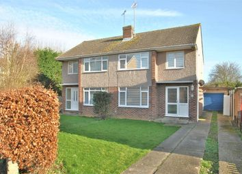 Thumbnail 3 bed semi-detached house to rent in Clairmont Close, Braintree, Essex