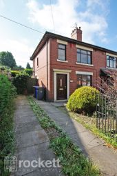Thumbnail 2 bedroom semi-detached house to rent in Franklin Road, Hartshill, Stoke-On-Trent