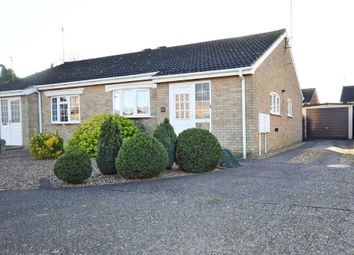 Thumbnail 2 bed semi-detached bungalow for sale in Popham Close, Raunds, Northamptonshire