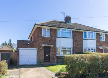 Thumbnail 3 bed semi-detached house to rent in Lawrence Avenue, Letchworth Garden City