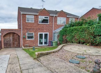 Thumbnail 3 bed semi-detached house for sale in Erica Drive, South Normanton, Alfreton