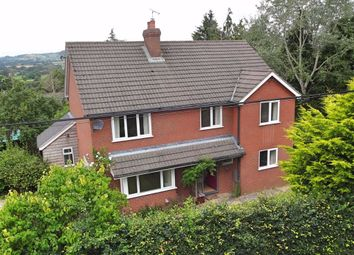Thumbnail 4 bed detached house for sale in Hillcrest, Hall Bank, Montgomery, Powys