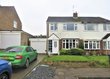 Thumbnail 3 bed semi-detached house for sale in Dyson Close, Hillmorton, Rugby