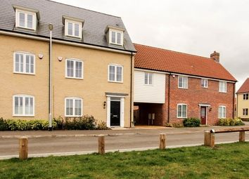 Thumbnail 4 bedroom terraced house to rent in Celandine View, Soham, Cambridgeshire