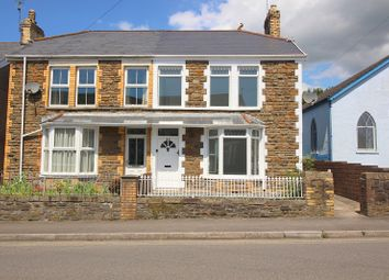 3 bed semi-detached house for sale in Bryn Road, Tondu, Bridgend County. CF32