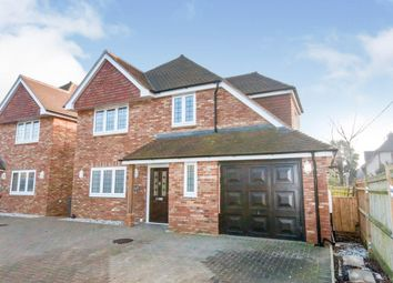 Thumbnail 4 bed detached house to rent in London Road, Hailsham