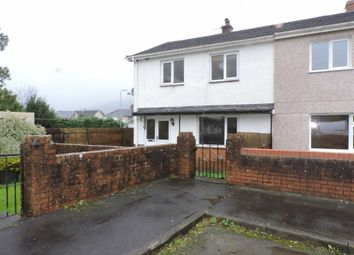 Thumbnail 3 bed semi-detached house for sale in Glanyrafon Road, Ystalyfera, Swansea