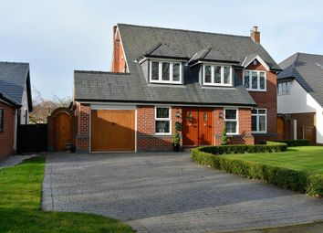 Thumbnail 5 bedroom detached house for sale in Culcheth Hall Drive, Culcheth, Warrington, Cheshire