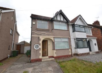 Thumbnail 3 bed semi-detached house for sale in Croft Lane, Bromborough, Wirral