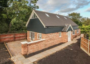 Thumbnail 3 bed detached house for sale in The Highlands, Exning, Newmarket