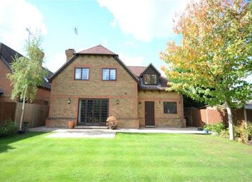 Thumbnail 4 bed detached house for sale in Little Foxes, Finchampstead, Berkshire