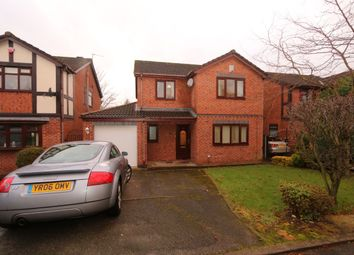 Thumbnail 4 bed detached house for sale in Werneth Hollow, Woodley, Stockport