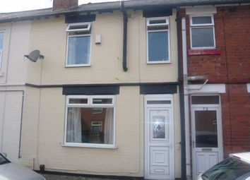 Thumbnail 2 bedroom terraced house to rent in Smith Street, Mansfield, Nottinghamshire