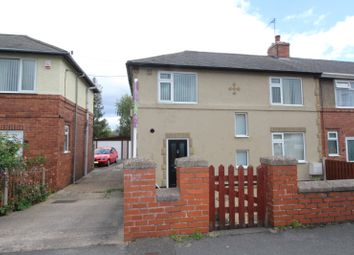 Thumbnail 4 bedroom end terrace house for sale in Firbeck Crescent, Langold, Worksop, Nottinghamshire
