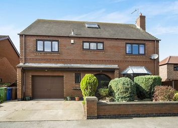 Thumbnail 4 bed detached house for sale in Back Lane, East Cowick, Goole