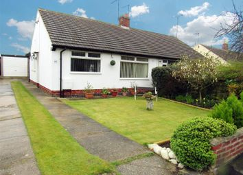 Thumbnail 2 bed semi-detached bungalow for sale in Middlefield Road, Cossington, Leicester