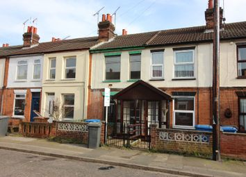 Thumbnail 3 bedroom terraced house to rent in Riverside Road, Ipswich
