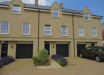 Thumbnail 4 bed town house for sale in Colchester Road, Ipswich