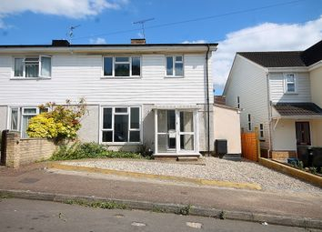 Thumbnail 3 bed semi-detached house for sale in Western Avenue, Epping