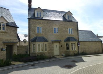 Thumbnail 4 bed detached house to rent in Beecham Close, Cirencester, Gloucestershire