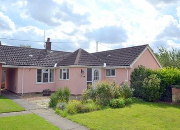 Thumbnail 2 bed link-detached house for sale in Lower North Street, Hundon, Sudbury