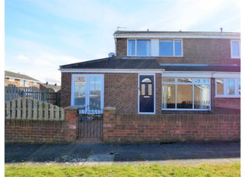 Thumbnail 4 bed semi-detached house for sale in Rochester Square, Jarrow