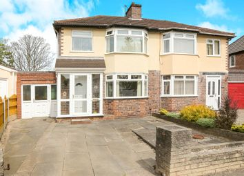 Thumbnail 3 bed semi-detached house for sale in Hatton Crescent, Wednesfield, Wolverhampton