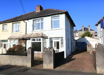 Thumbnail 3 bedroom semi-detached house to rent in Dean Park Road, Plymstock, Plymouth